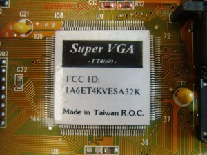 Video_TsengSuper_VGA ET-4000-64K_03305214-P40_ISA-16bit_4