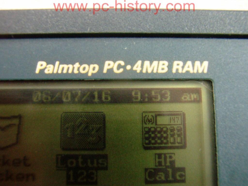 Музей компьютеров 187 Pda Hp Palmtop 200lx