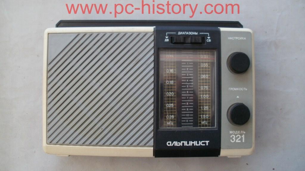 Радиоприёмник «Альпинист-321»