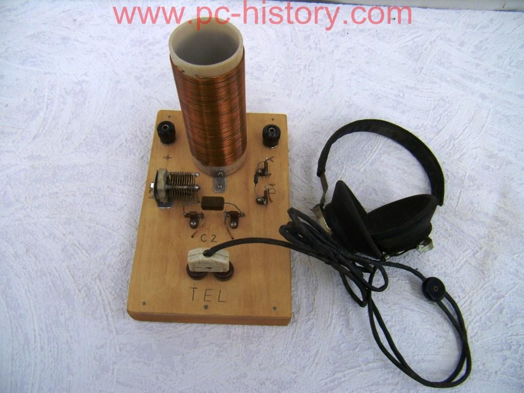 Как сделать детекторный радиоприемник своими руками 4