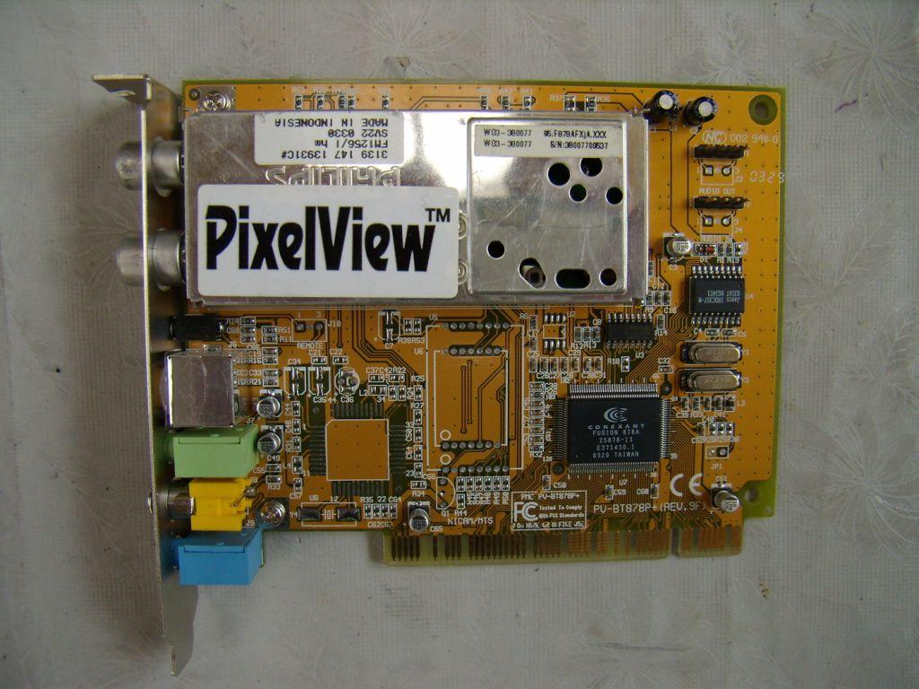 Pixelview Pv Bt878p Fm Rc Драйвер